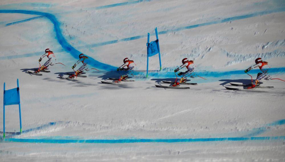 Эстер Ледецкая (Чехия) — горные лыжи.