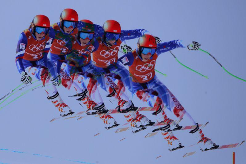 Петра Вльгова (Словакия) — горные лыжи.