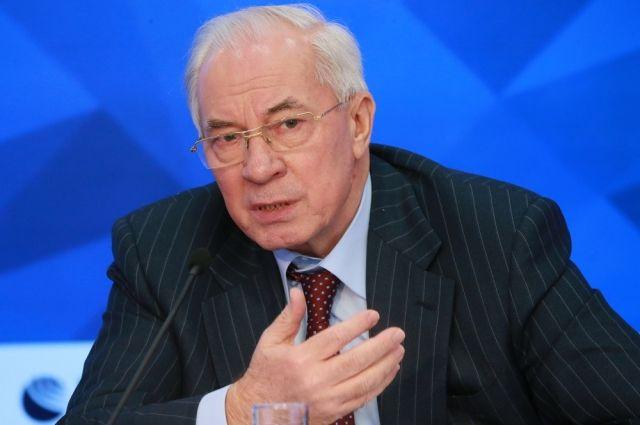 Николай Азаров: Украину может спасти только полная смена власти