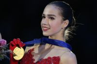 Алина Загитова на чемпионате Европы обыграла чемпионку мира Евгению Медведеву.