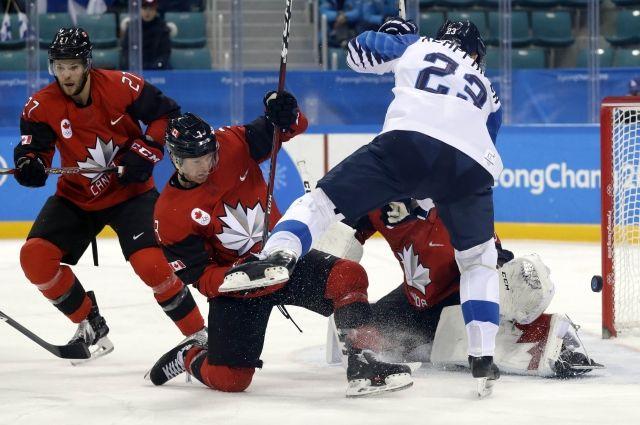 Сборная Канады похоккею вышла вполуфинал Олимпийских игр