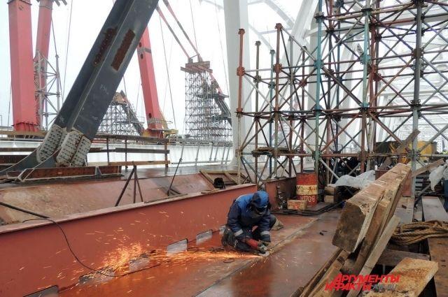 Крымский мост будут охранять беспилотники