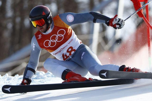 Горнолыжник Кузнецов выбыл из борьбы за медали в слаломе на Олимпиаде