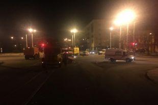 В Калининграде трое рабочих упали с высоты из-за кареты «скорой».