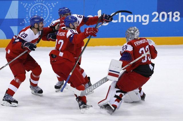 Русским репортерам запретили «шпионскую» съемку тренировки хоккеистов сборной Чехии наИграх