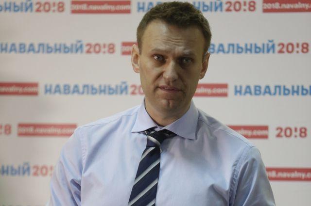 Полиция отпустила Навального после составления протокола