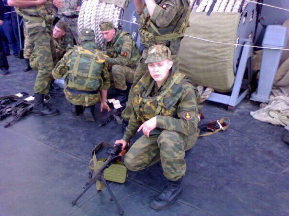 Константин Григоров. Морская пехота