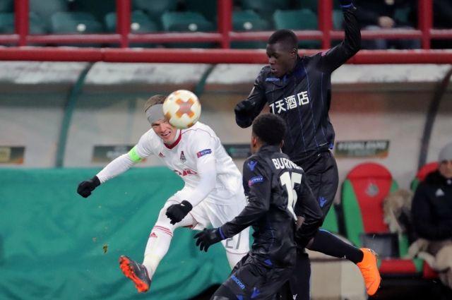 «Локомотив» обыграл «Ниццу» и вышел в 1/8 финала Лиги Европы