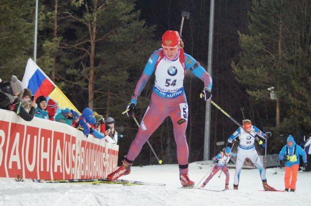 Спринт на этапе Кубка мира в Ханты-Мансийске
