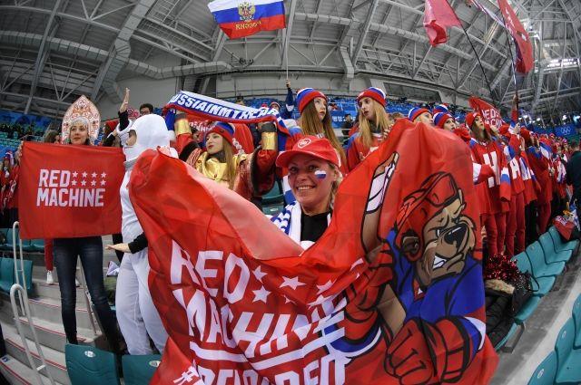 В Пхёнчхане начался матч хоккейного полуфинала Россия – Чехия