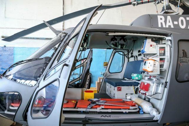 Борт санавиации доставил в Красноярск 12 пострадавших в ДТП в Кузбассе