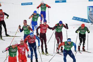 Cоревнования по лыжным гонкам на XXIII зимних Олимпийских играх в Пхенчхане.