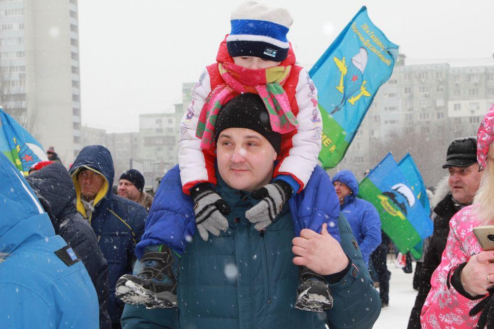 Главное праздничное мероприятие в Ростове 23 февраля прошло на площадке ТРК «Золотой Вавилон».