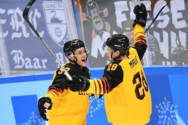 Германия стала соперником сборной России по хоккею в финале ОИ