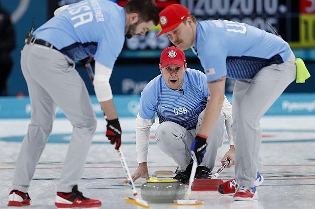 Мужская сборная США по керлингу впервые выиграла «золото» на ОИ