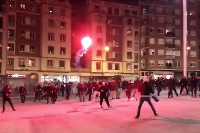 Что известно о беспорядках с участием фанатов «Спартака» в Бильбао?