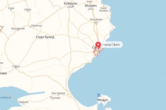 В Тунисе задержали следовавшее из Новороссийска турецкое судно