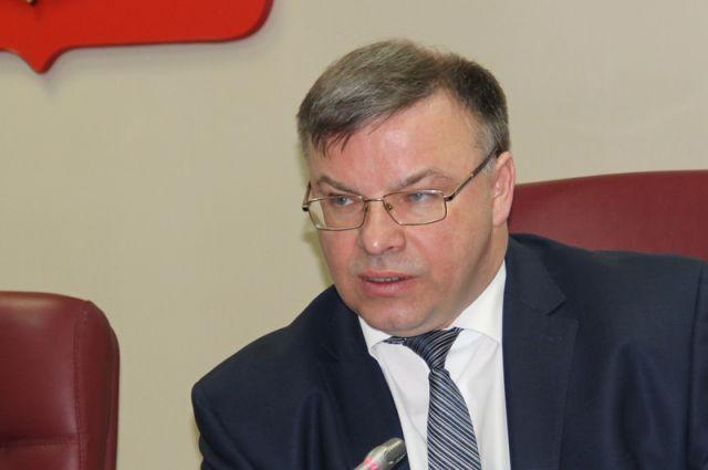 Игорь Егоров на пресс-конференции 14 февраля 2018 года.