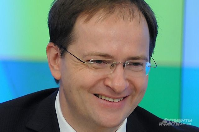 ВОмск прибудет министр культуры РФ Владимир Мединский