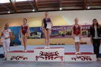 Наталья Капитонова (в центре) завоевала четыре медали.