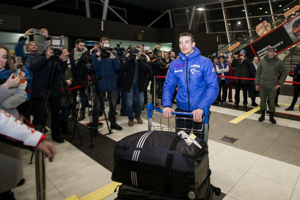 Андрей Ларьков признался журналистам, что сил почти не осталось - выложился на Олимпиаде.