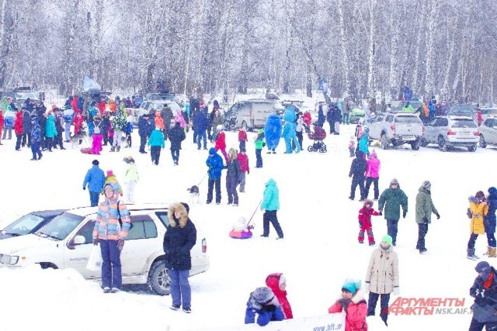 Хаски-фест  вызвал большой интерес у новосибирцев и гостей города.