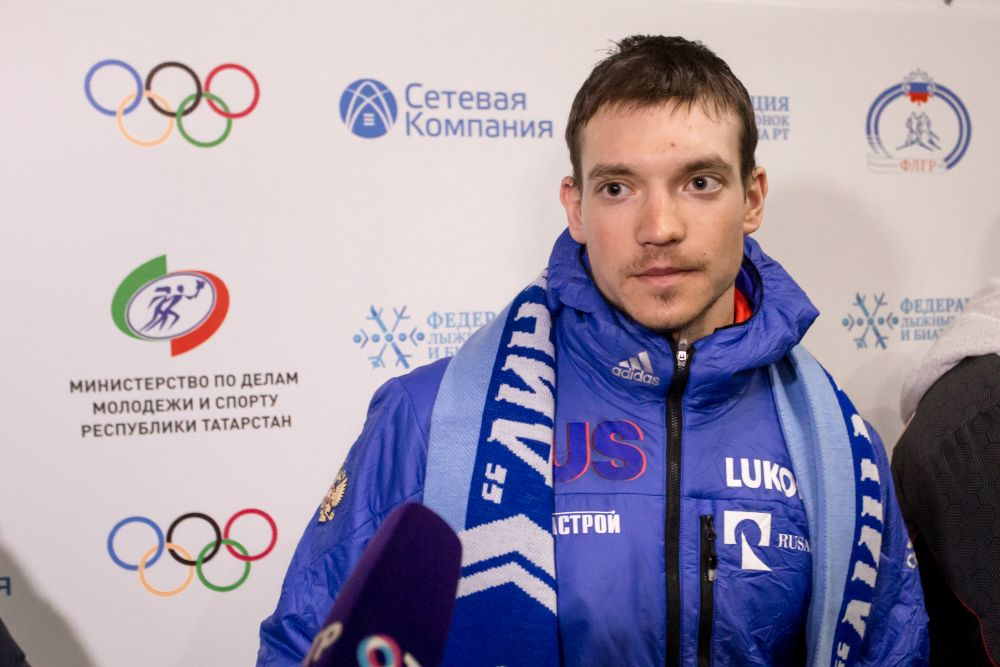 В Зеленодольске спортсмена ждал салют и пельмени от мамы.