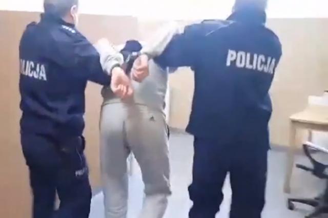 Атака украинцами и грузинами полицейских в Польше: появились подробности