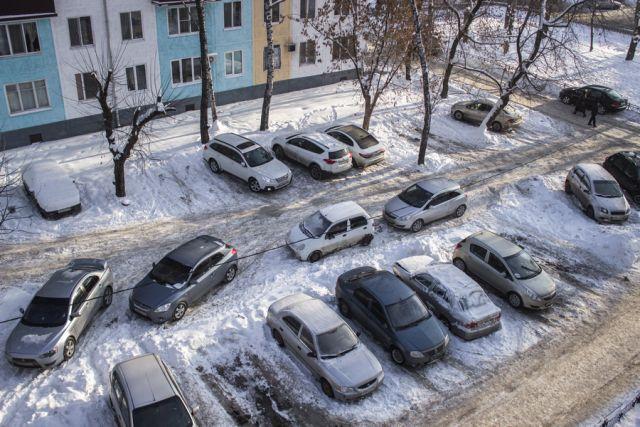 Вот так сейчас парковаться нельзя.