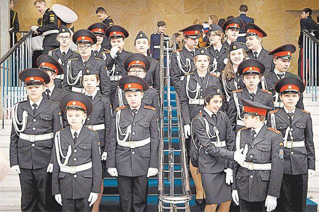 В 168 школах столицы открыты кадетские классы.