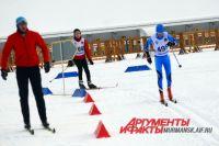 Две сотни спортсменов соревновались в Долине Уюта.