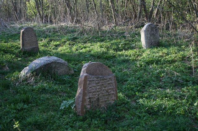 Могилы основателей хасидского течения в Любавичах.