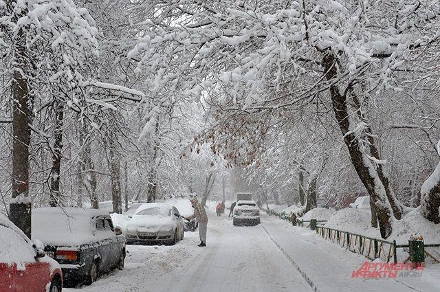 В Тюмени дорожники готовы к снегопаду