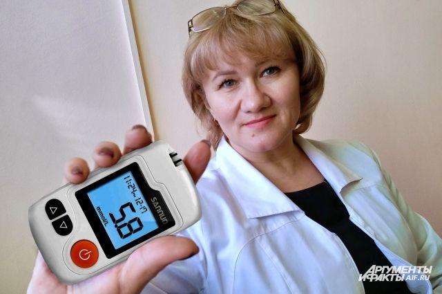 Главный внештатный эндокринолог Елена Никольская знает, как «усмирить сахар».