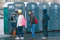 Сегодня в донской столице большая проблема с общественными туалетами.