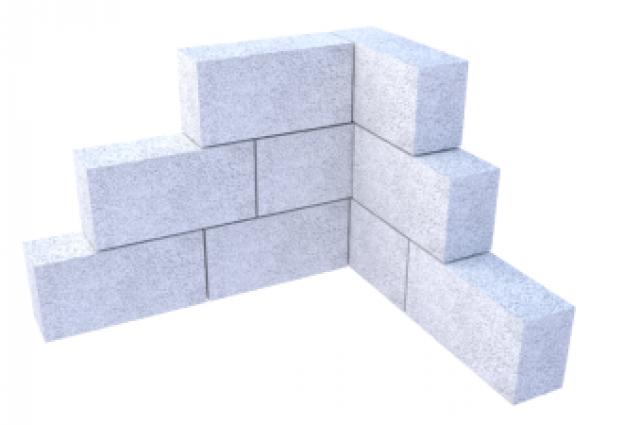 Газобетонные блоки редназначены для кладки наружных и внутренних несущих стен и перегородок.