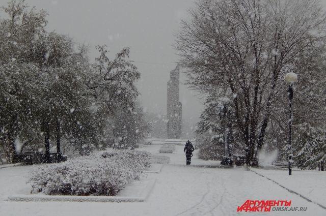 Весна в омском регионе начнётся с метели.