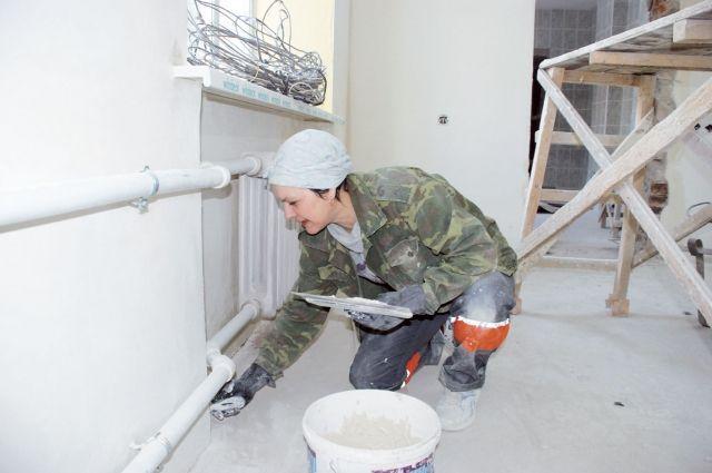 До конца года планируют завершить все ремонтные работы в санатории.