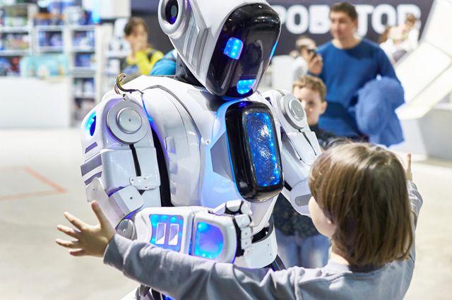 В 2020-хгг. роботы станут привычной частью городского пейзажа.