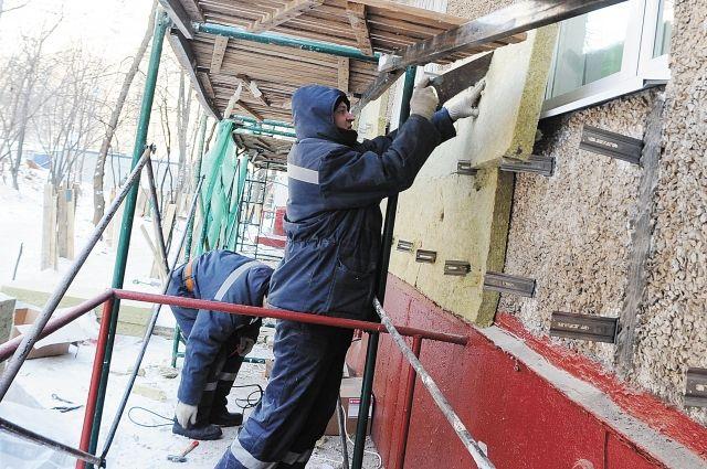 Площадь отремонтированных за год фасадов составила 251 тыс. кв. метров.