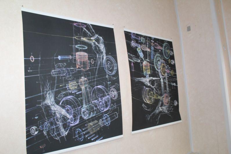 Те самые картинки японского художника Ацуши Кояма, вдохновляющие ребят.