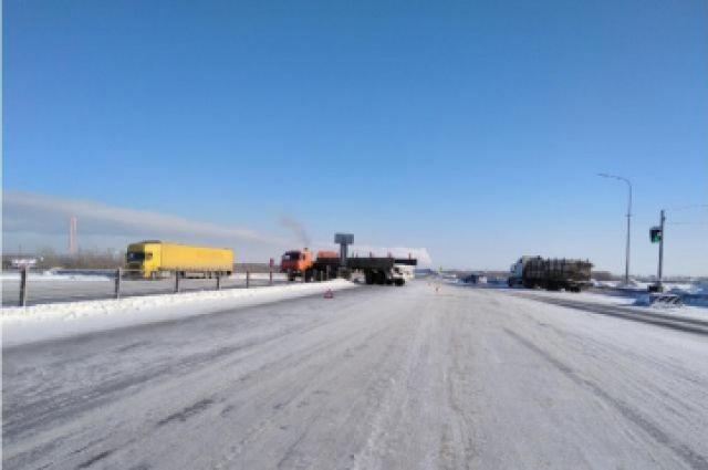 ДТП на 49 км автодороги «Нефтеюганск-Сургут»