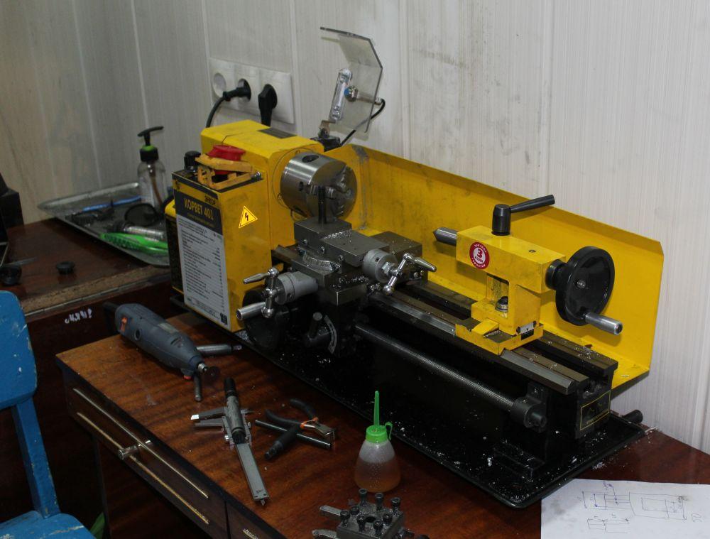 Детали для принтеров вытачиваются на нескольких станках.