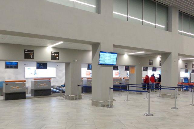 В калининградском аэропорту Храброво открылась обновленная зона регистрации.