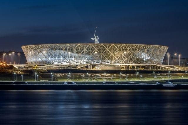 ВВолгограде достроили стадион кЧМ-2018 пофутболу