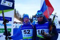 Игорь Малиновский (слева) с товарищем по команде Каримом Халили