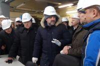 Первым пунктом визита министра стала ТЭЦ-1.