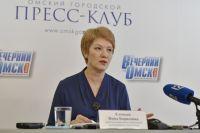 Елецкая рассказала о том, как повысить уровень образования в Омска.