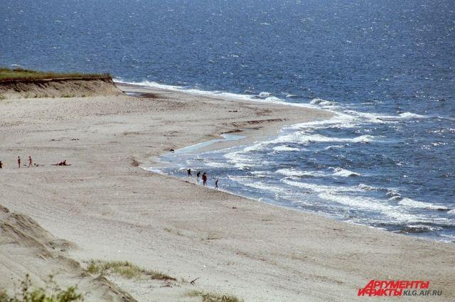 В Янтарном неизвестные разобрали забор, чтобы проехать на пляж.
