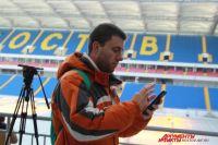 Бразильский журналист Фабиу Пейн сделал репортаж со стадиона «Ростов-Арена».
